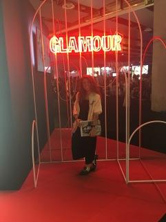 Stand revista Glamour.
